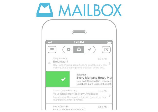 mailbox sur android