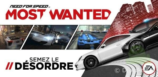 nfs most wanted android pas cher