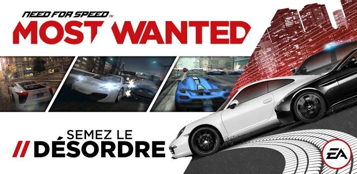 Need for speed most wanted tourne maintenant sur htc one for Nfs most wanted android