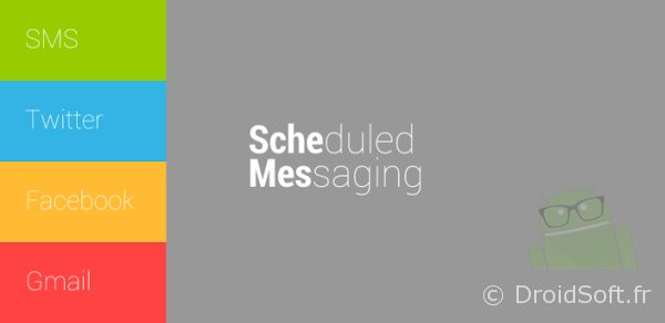 schedule message android