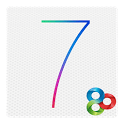 logo iOS 7 iPhone Theme Go Launcher