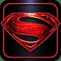 logo Man of Steel : l'homme d'acier