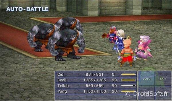 final fantasy 4 bataille