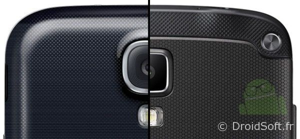 galaxy S4 galaxy S4 Active comparaison photo