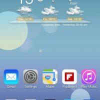 ios 7 theme Android