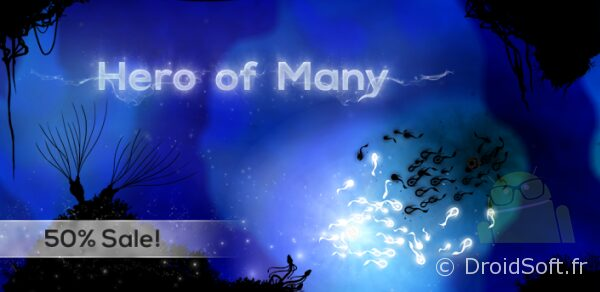hero of many android jeu