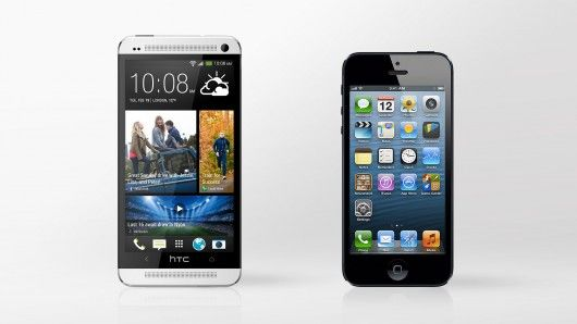 htc one iphone 5 transfert