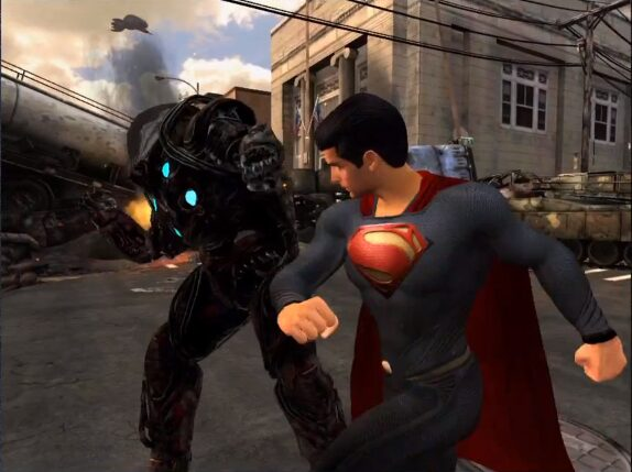 man of steel superman android