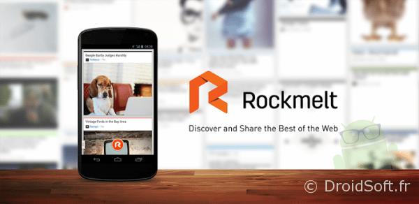 rockmelt android social reader 0