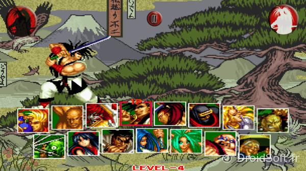 samurai shodown 2 android jeu snk 1