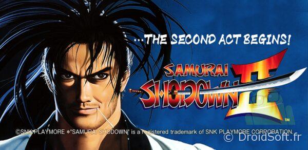 samurai shodown 2 android jeu snk