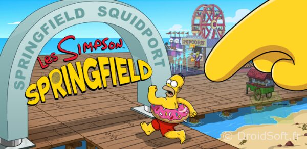 simpson springfield port calamar android