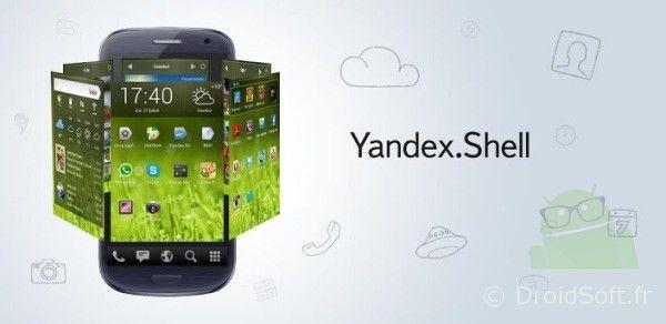 yandex shell android apk gratuit