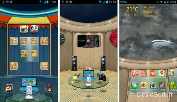 3D home launcher app gratuite android