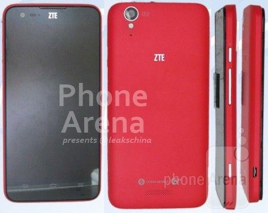 zte, Une photo du ZTE U988S, un futur smartphone équipé d'une puce Tegra 4i