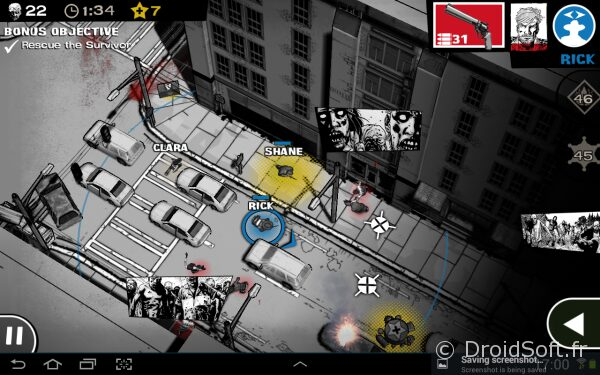 The Walking Dead Assault android 3