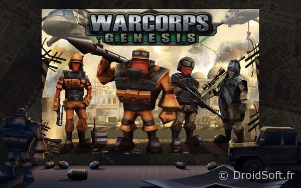 WarCom Genesis jeu android tps
