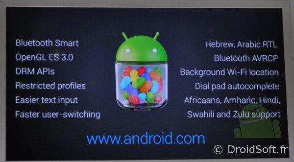 android 4.3 présentation