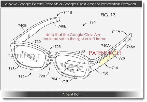 brevet google glass