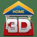 logo 3D Home