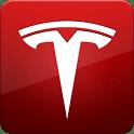 logo Tesla Model S Beta