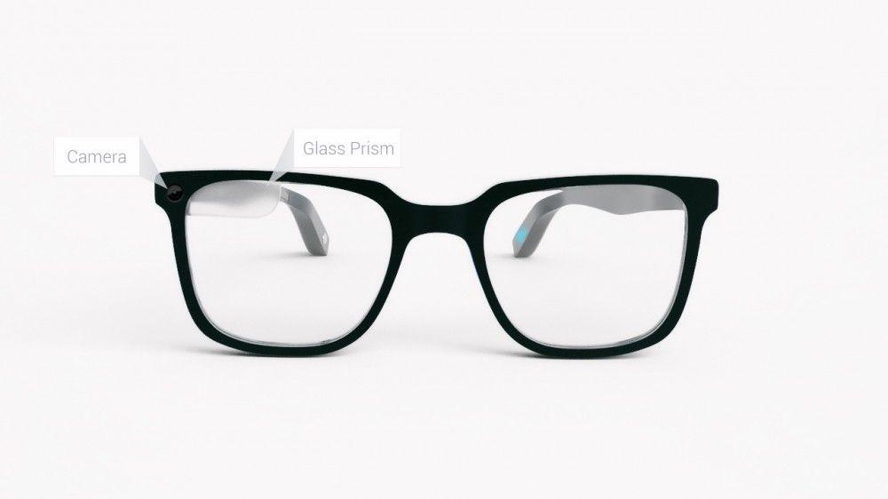 google glass ecran