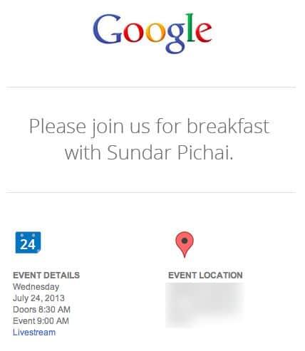 google keynote 24 juillet 2013