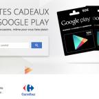 google play cartes cadeaux france