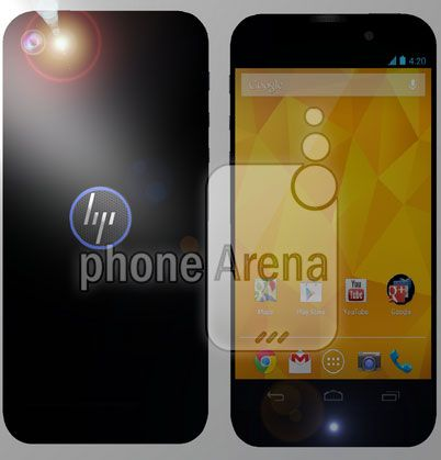 hp smartphone 3D android