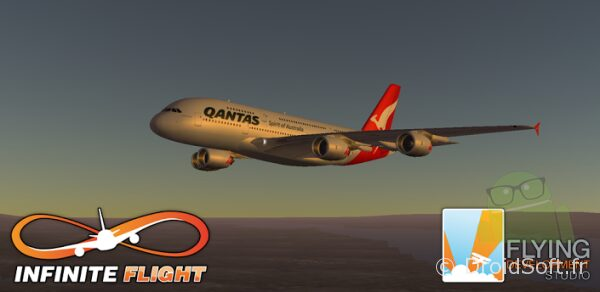 infinite flight simulator android jeu 1