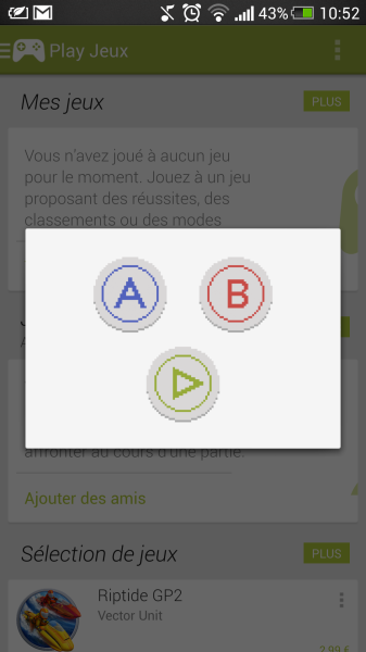 konami code google play games