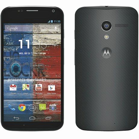moto x photos officielles noires