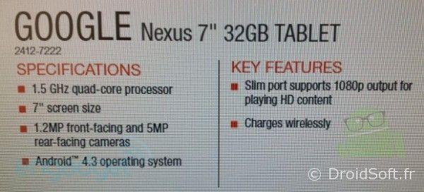 nexus 7 hd specs