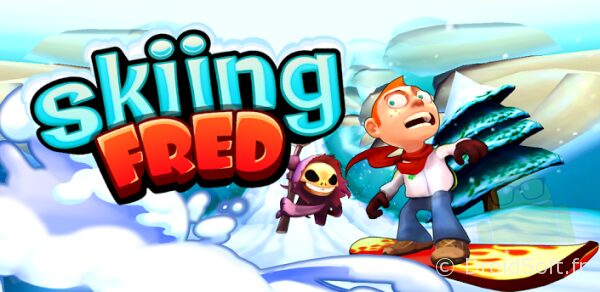 skiing fred jeu gratuit android