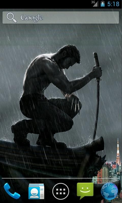 Wolverine Live Wallpaper Android Droidsoft