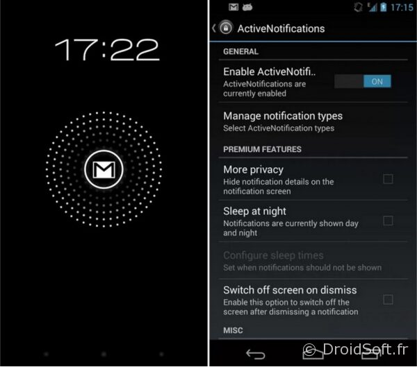 ActiveNotifications android app gratuite
