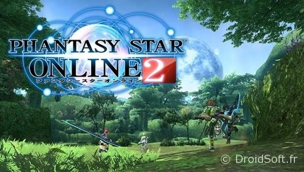 Phantasy Star Online 2 android ios