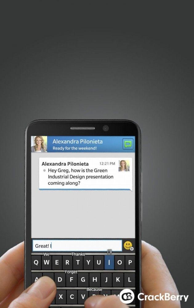 blackberry rumeur smartphone