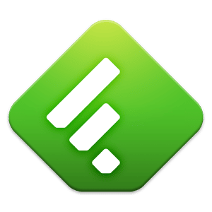 logo Feedly. Google Reader News RSS