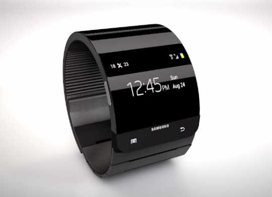 concept-samsung-galaxy-gear ecran flexible