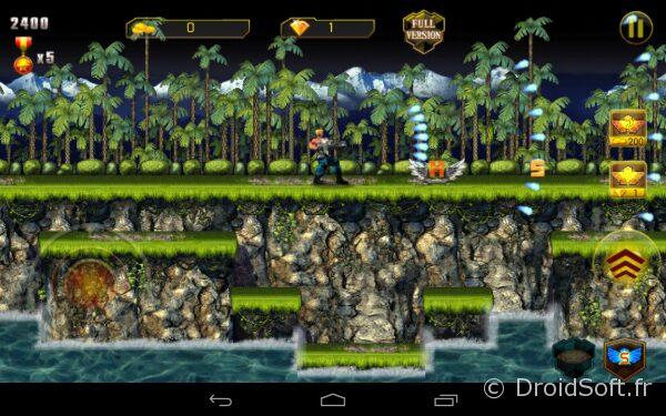 contrat evolution android jeu