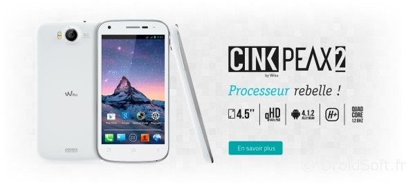 le Wiko Cink Peax 2 android