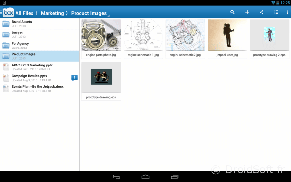 Box pour Android