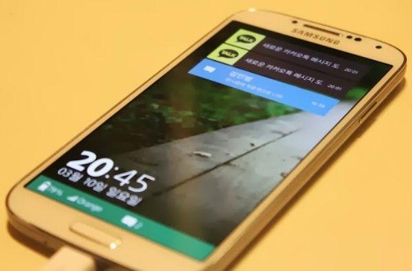 Samsung Galaxy S4 Tizen