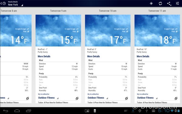 accuweather android