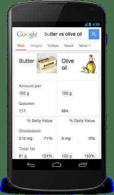 beurre huile google