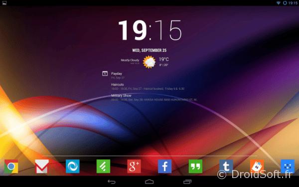 chronus android tablette