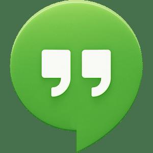 logo Hangouts (remplace Talk)