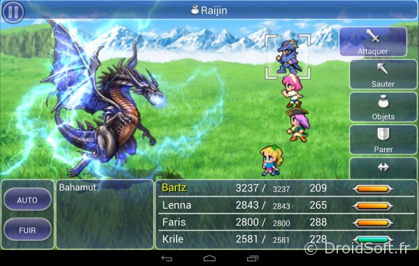 ff5 android jeu