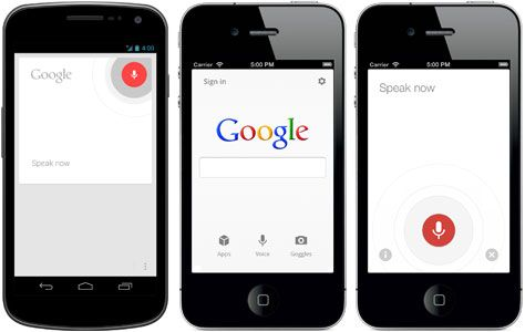 google voice search android